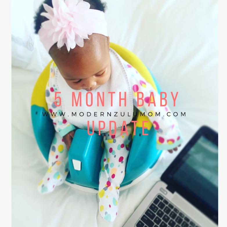 blog; baby update; 5 months
