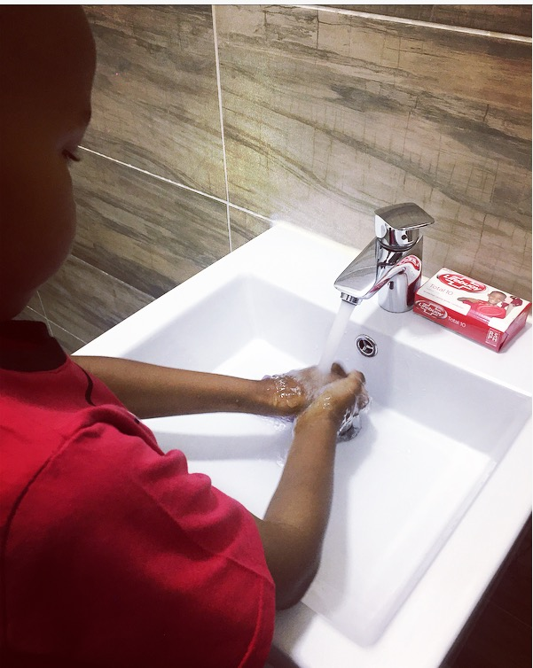 Importance of washing your hands