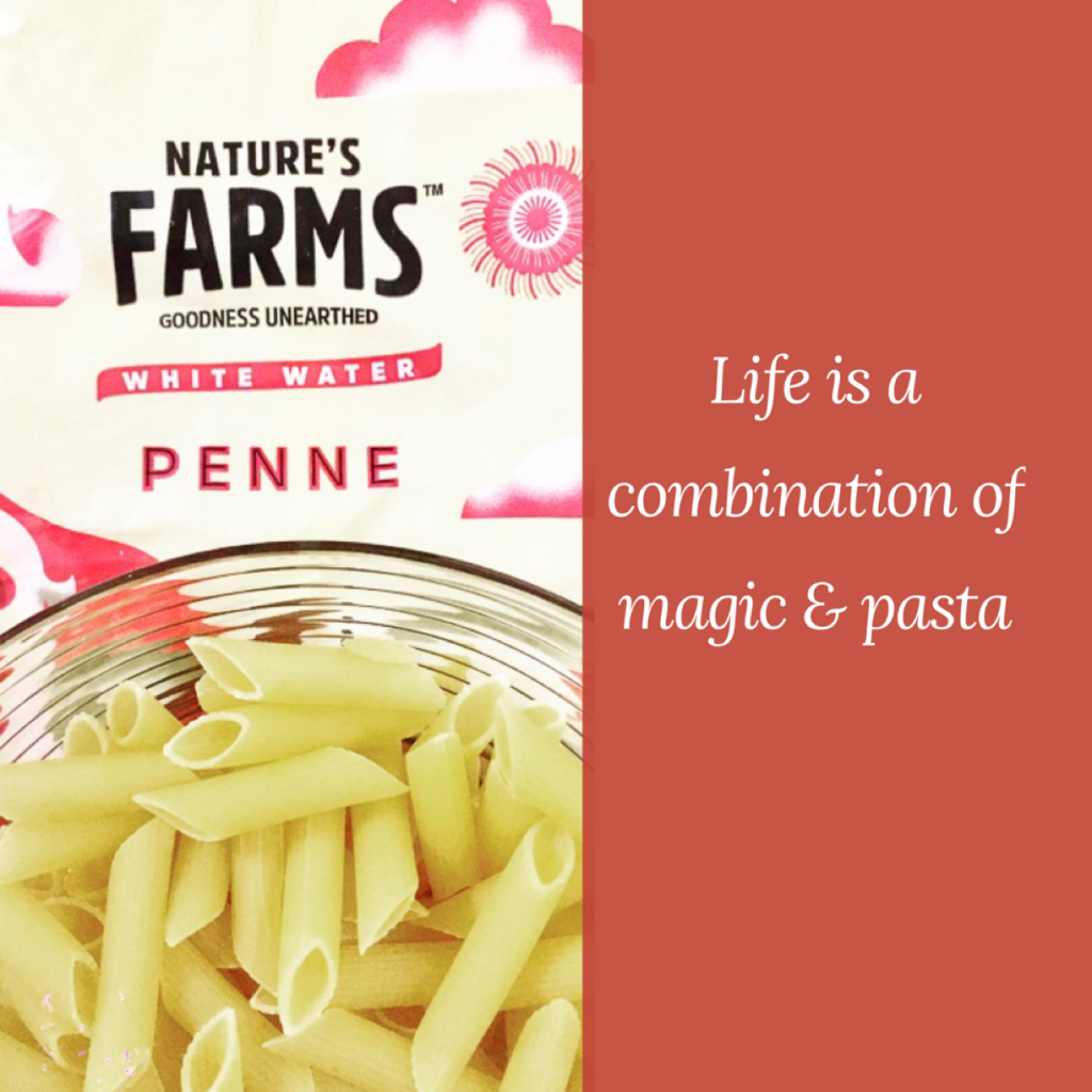 Natures Farms pasta