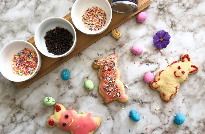Easter Bunny Butter Cookies