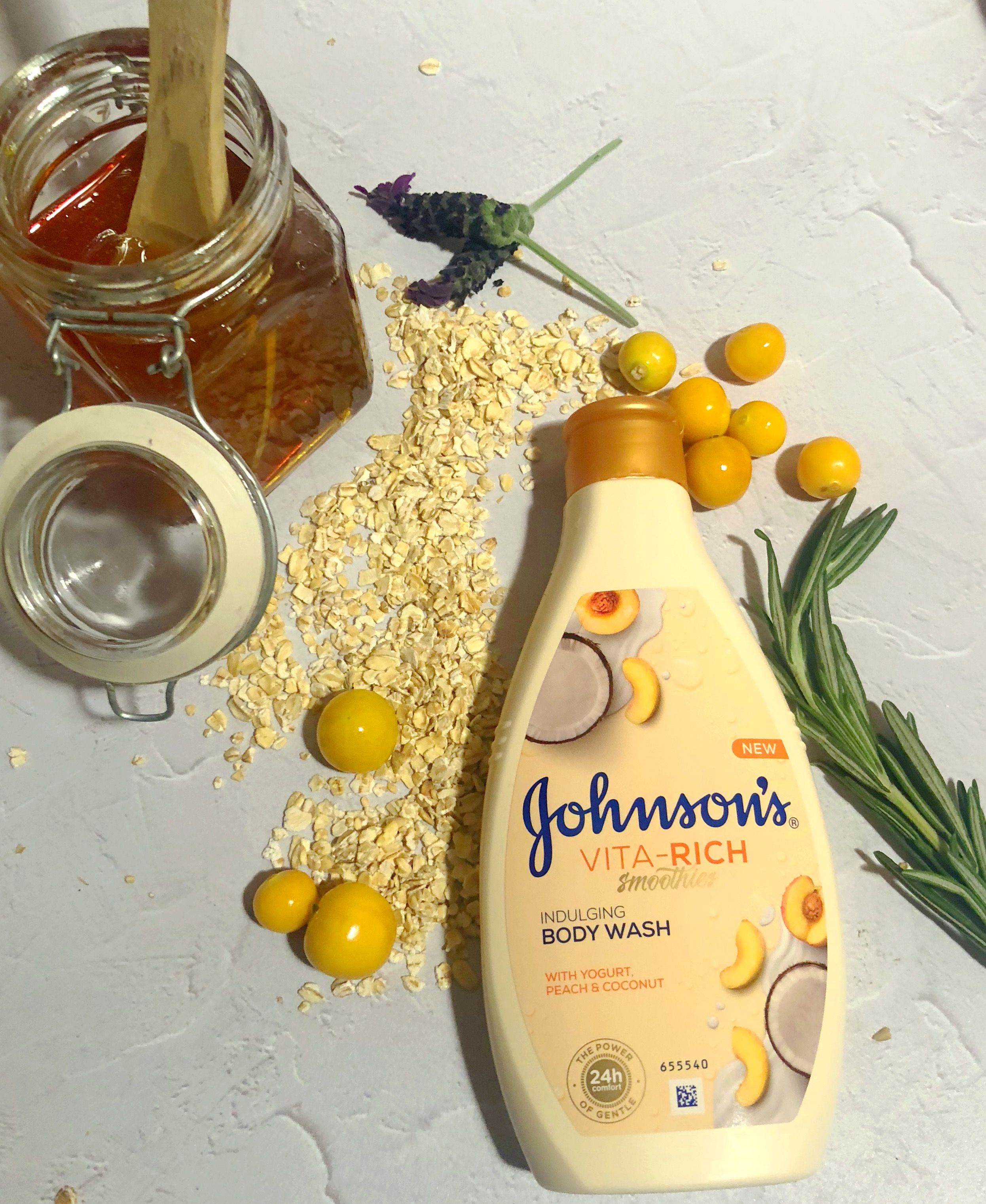 Johnsons Vita-Rich Smoothie Body