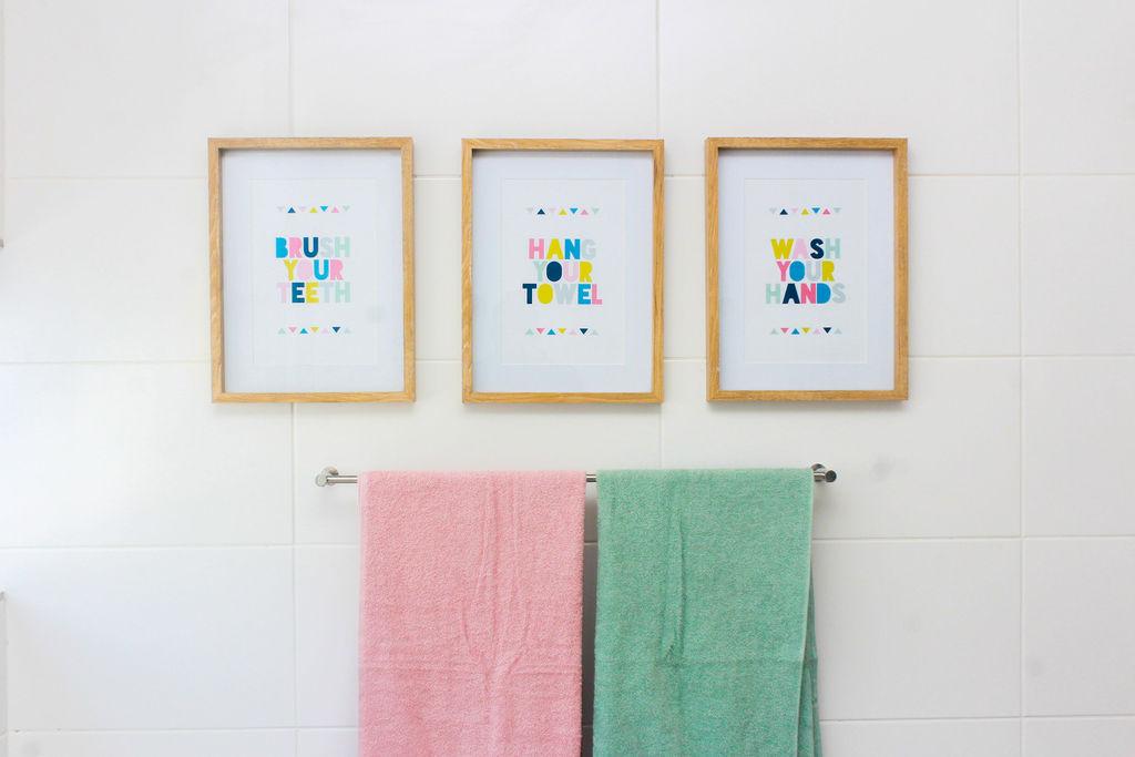 Children's Bathroom; Children's Bathroom Reveal; Kids
