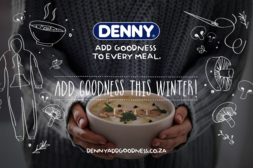 #AddGoodness; add goodness; Denny Mushrooms